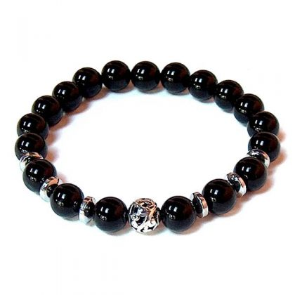 Black Onyx Healing Energy Bracelet