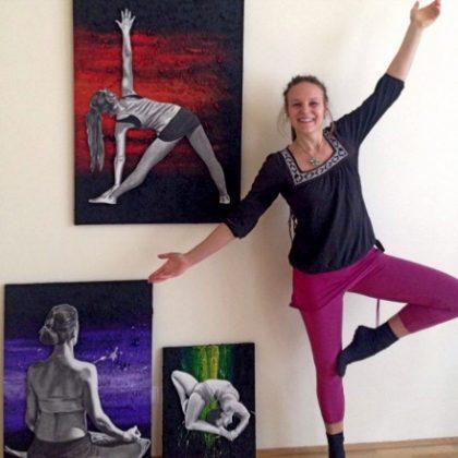 Kate Steiner 3 Easy Yoga Poses