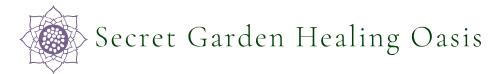 Secret Garden Healing Oasis logo