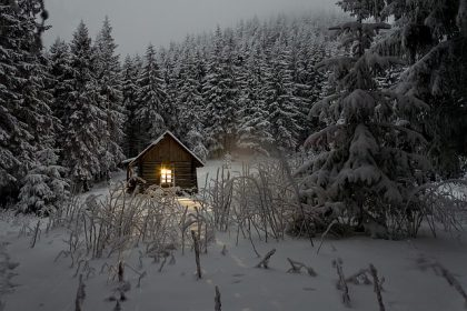winter - living in harmony with nature